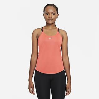 Nike Dri-FIT One Linne med standardpassform för kvinnor