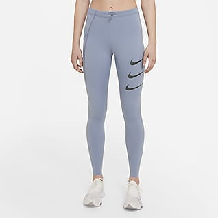 Nike Epic Luxe Run Division Women's Mid-Rise Running Leggings