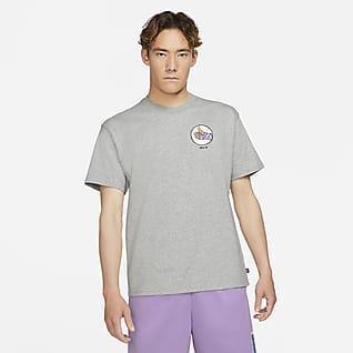 Nike SB เสื้อยืดสเก็ตบอร์ดผู้ชาย