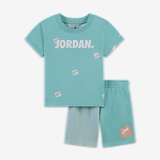 Jordan Jumpman Conjunto de playera y shorts para bebé (12-24M)