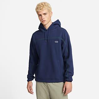 Nike SB Terjedelmes, deszkás, kapucnis pulóver