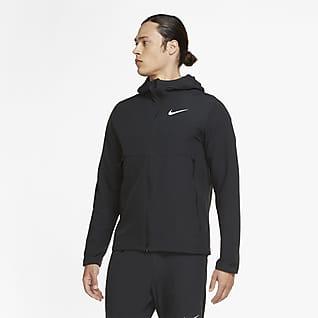 Nike Vevd treningsjakke i vinterugave til herre