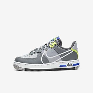 Nike Air Force 1 React Scarpa - Ragazzi