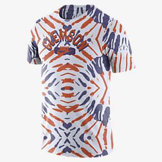 Nike College (Clemson) Men's Printed T-Shirt