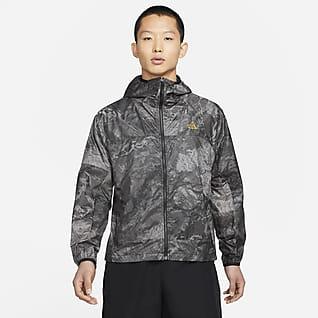 """Nike ACG """"Cinder Cone"""" เสื้อแจ็คเก็ตพิมพ์ลายทั่วตัวผู้ชาย"""