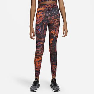 Nike Sportswear Mönstrade leggings med hög midja för kvinnor