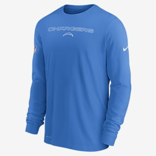 Nike Dri-FIT Sideline Team Issue (NFL Los Angeles Chargers) Men's Long-Sleeve T-Shirt
