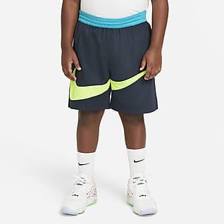 Nike Elite Shorts de básquetbol gráficos para niños talla grande (talla extendida)