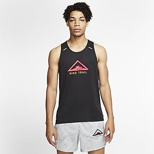 Nike Rise 365 Haut de trail sans manches pour Homme