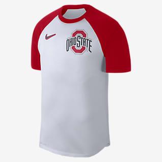 Nike College Dri-FIT (Ohio State) Men's Raglan T-Shirt