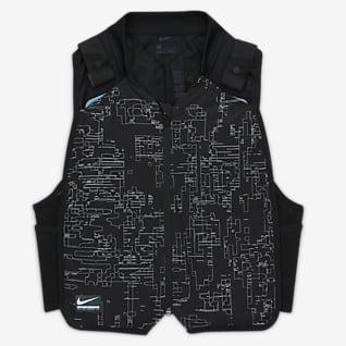 Nike NSRL Precool Αμάνικο τζάκετ για τρέξιμο
