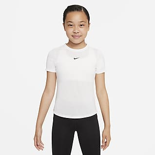 Nike Dri-FIT One Футболка с коротким рукавом для девочек школьного возраста
