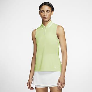 Nike Dri-FIT Victory Polo de golf sin mangas - Mujer