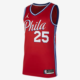 Ben Simmons 76ers Statement Edition 2020 Swingman Jordan NBA-jersey