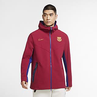 FC Barcelona Tech Pack Dessuadora amb caputxa i cremallera completa - Home