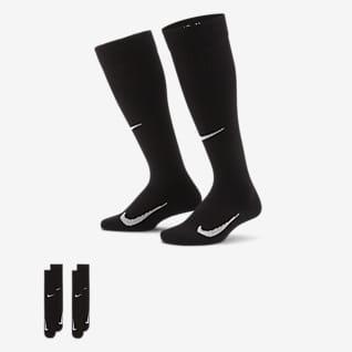 Nike Swoosh Calcetines hasta la rodilla para niños (2 pares)