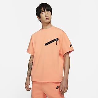 Nike Sportswear เสื้อถักแขนสั้นผู้ชาย