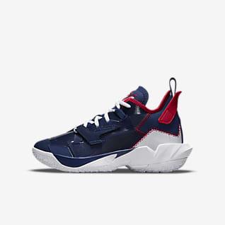 """Баскетбольная обувь для школьников Jordan """"Why Not?"""" Zer0.4 Баскетбольная обувь для школьников"""