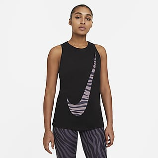 Nike Dri-FIT Damska koszulka treningowa bez rękawów Icon Clash