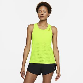 Nike AeroSwift Canottiera da running - Donna