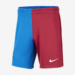 Домашняя/выездная форма ФК «Барселона» 2021/22 Stadium Мужские футбольные шорты
