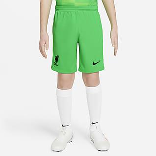 de portero Liverpool FC 2021/22 Stadium  Shorts de fútbol para niños talla grande