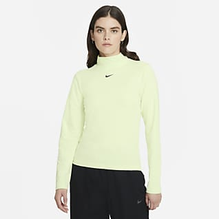 Nike Sportswear Collection Essentials เสื้อคอเต่าแขนยาวผู้หญิง