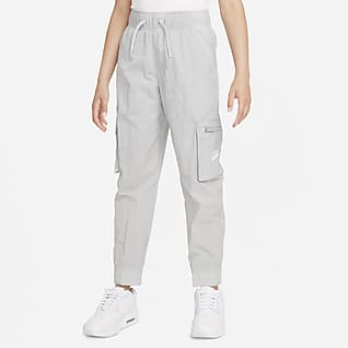 Nike Sportswear Older Kids' (Girls') Woven Cargo Trousers