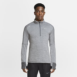 Nike Sphere Løpeoverdel med glidelås i halsen til herre