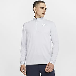 Nike Dri-FIT Victory Félhosszú cipzáras férfi golffelső