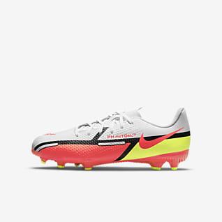 Nike Jr. Phantom GT2 Academy MG Voetbalschoen voor kleuters/kids (meerdere ondergronden)