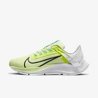 Nike Air Zoom Pegasus 38 FlyEase รองเท้าวิ่งโร้ดรันนิ่งผู้หญิงใส่/ถอดง่าย (หน้ากว้าง)