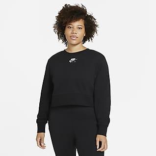 Nike Air Kerek nyakkivágású női pulóver (plus size méret)
