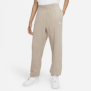 Nike Sportswear Essential Collection Pants de tejido Fleece desgastados para mujer