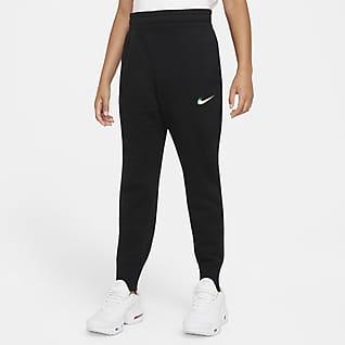 Nike Sportswear Club Kalhoty spotiskem pro větší děti (dívky)