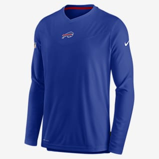 Nike Dri-FIT Sideline Coaches (NFL Buffalo Bills) Men's Long-Sleeve V-Neck T-Shirt