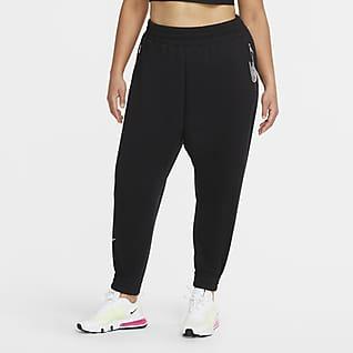 Nike Air Calças de lã cardada a 7/8 para mulher (tamanhos grandes)