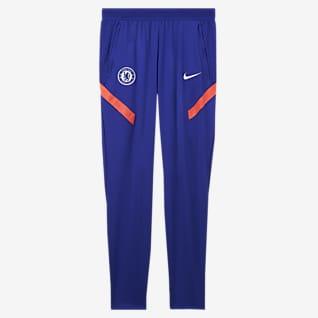 Chelsea FC Strike Męskie dzianinowe spodnie piłkarskie