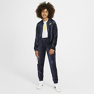 Nike Sportswear Tracksuit til store barn (jente)