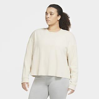 Nike Yoga Sudadera para mujer (talla grande)