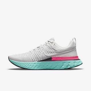 Nike React Infinity Run Flyknit 2 Hardloopschoenen voor heren (straat)