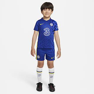 Chelsea FC 2021/22 de local Kit de fútbol para niños talla pequeña