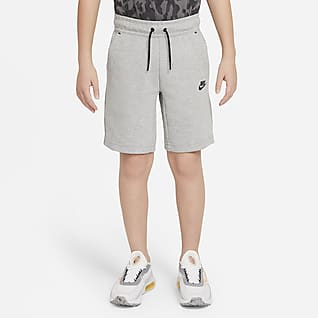 Nike Sportswear Tech Fleece Big Kids' (Boys') Shorts