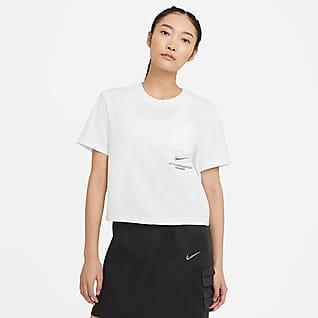 Nike Sportswear Swoosh 女款短袖上衣