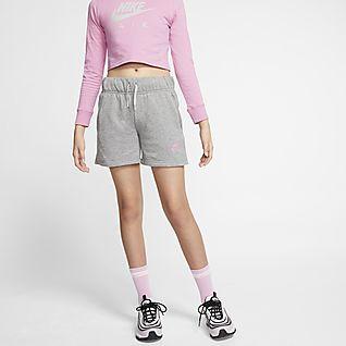 Nike Shorts Sport shorts brun meleret | Køb i dag