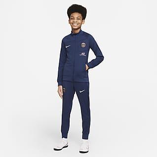 Paris Saint-Germain Academy Pro Domácí fotbalová souprava Nike Dri-FIT pro větší děti