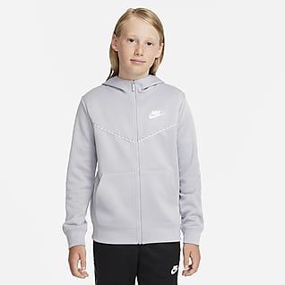 Nike Sportswear Hoodie met rits voor jongens