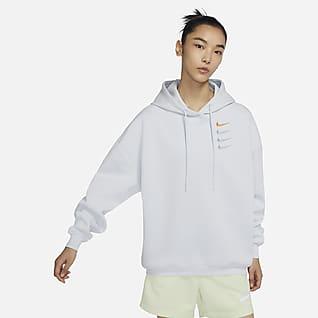 Nike Sportswear 女子针织套头连帽衫