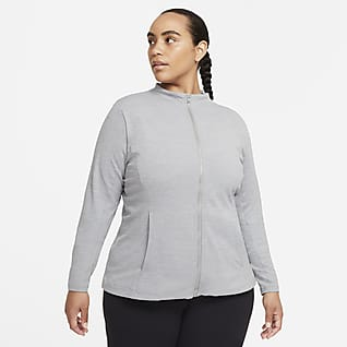 Nike Yoga Luxe Dri-FIT Women's Full-Zip Jacket (Plus Size)