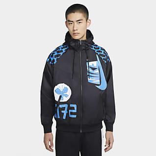Nike Sportswear Heritage Windrunner เสื้อแจ็คเก็ตผู้ชาย